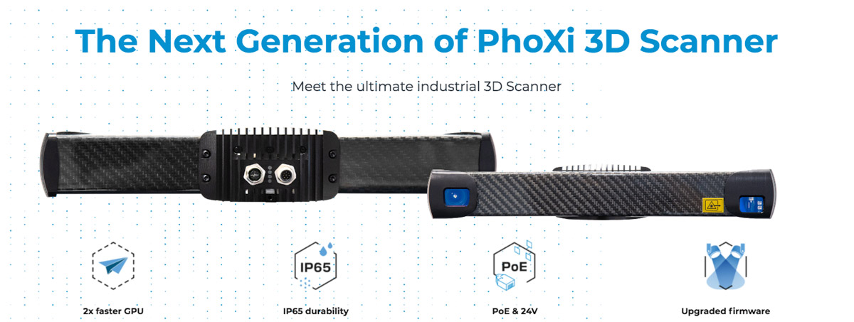 new photoneo 3d scanner