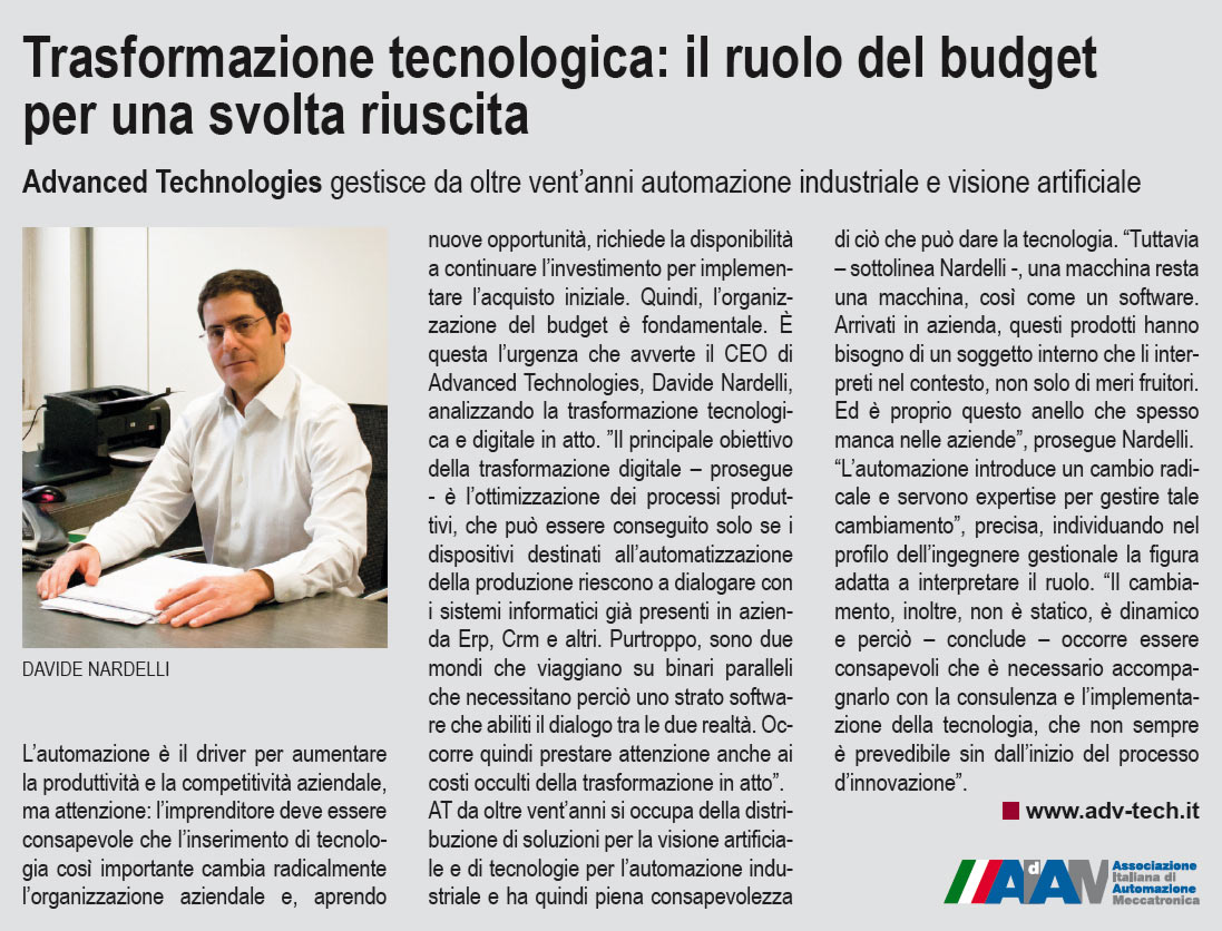 Trasformazione tecnologica: il ruolo del budget per una svolta riuscita