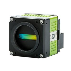 Trilinear color line scan camera