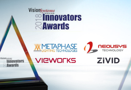 Vision System Design Innovators Awards 2018