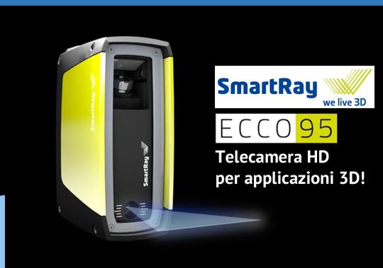ECCO 95 telecamera 3D ad alta definizione e velocità