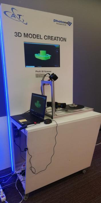 Tecnologieper il Bin Picking e la 3D Model Creation