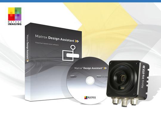 Matrox Iris GTR con Matrox Design Assistant X
